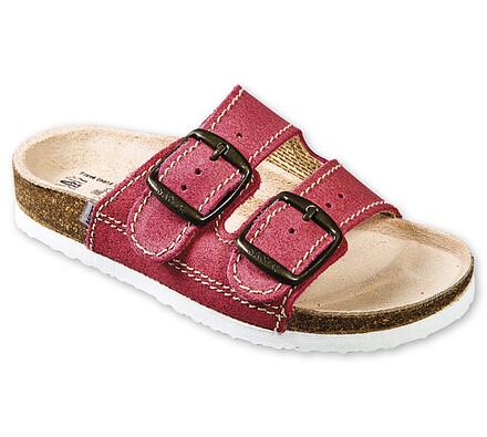 Santé Dětské zdravotní pantofle vel. 34 červené