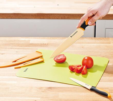 Sada nožů s prkénkem