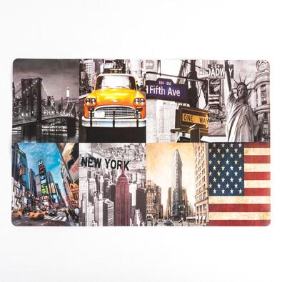 Prostírání City New York, 28 x 42 cm, sada 4 ks