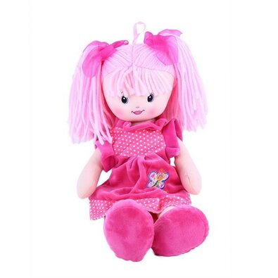 Rappa Handrová bábika Ruženka, 50 cm