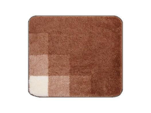 Koupelnová předložka UDINE hnědá, 55 x 65 cm