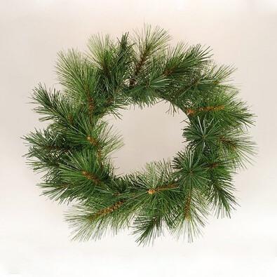 Dekorativní vánoční věnec borovice, pr. 45 cm