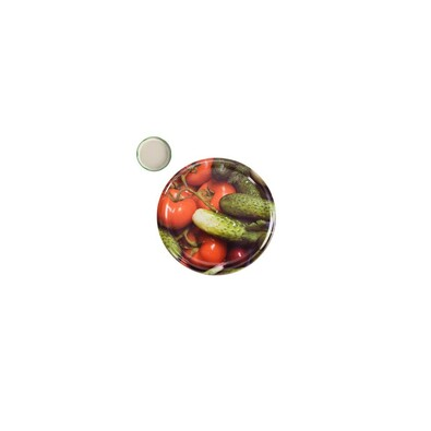 Víčko na zavařovací sklenici, 8,5 cm, 10 ks