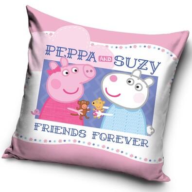 Poduszka Świnka Peppa Friends, 40 x 40 cm
