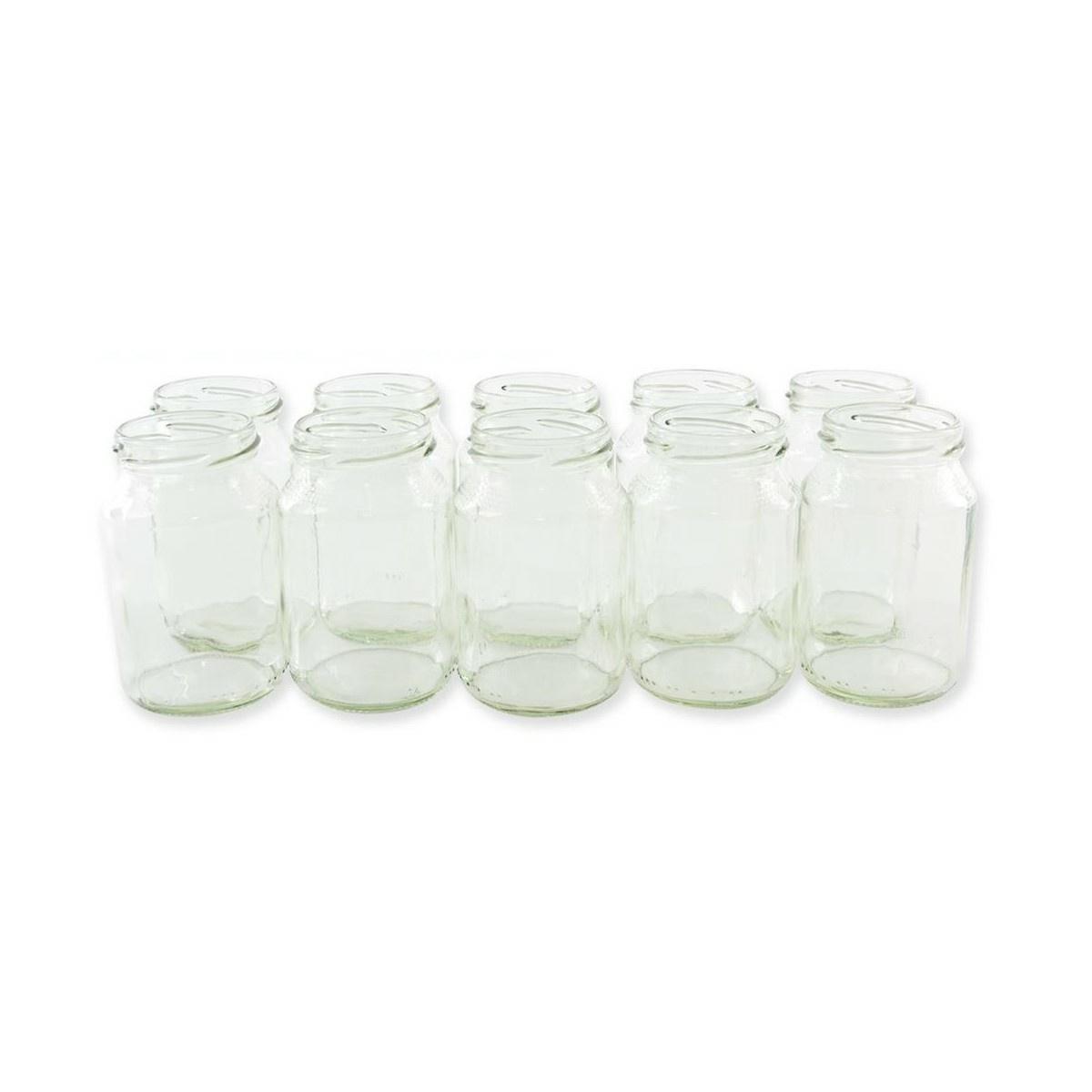 Orion Sada zaváracích pohárov so závitom, 10 ks