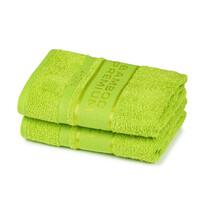 4Home Bamboo Premium törölköző, zöld, 30 x 50 cm, 2 db-os szett
