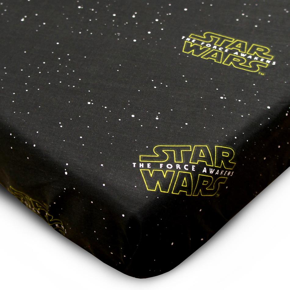 Jerry Fabrics Bavlnené prestieradlo Star Wars, 90 x 200 cm