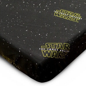Bavlněné prostěradlo Star Wars, 90 x 200 cm