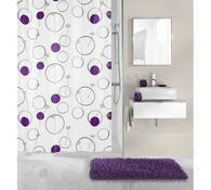 Koupelnový závěs Monore  Meuschbezinka, fialová, 180 x 200 cm