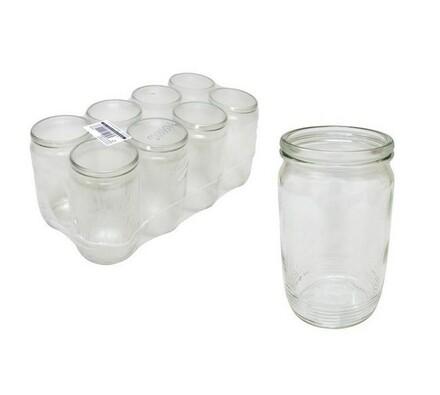 Zavařovací sklenice 700 ml, 8 ks