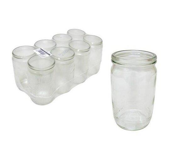 Zavárovacie poháre 700 ml, 8 ks