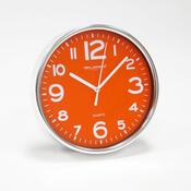 Nástěnné hodiny oranžová, 20 cm