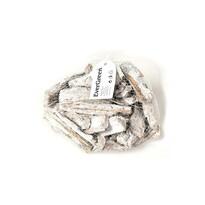 Dekorační sada ojíněných kousků kůry, balení 500 g