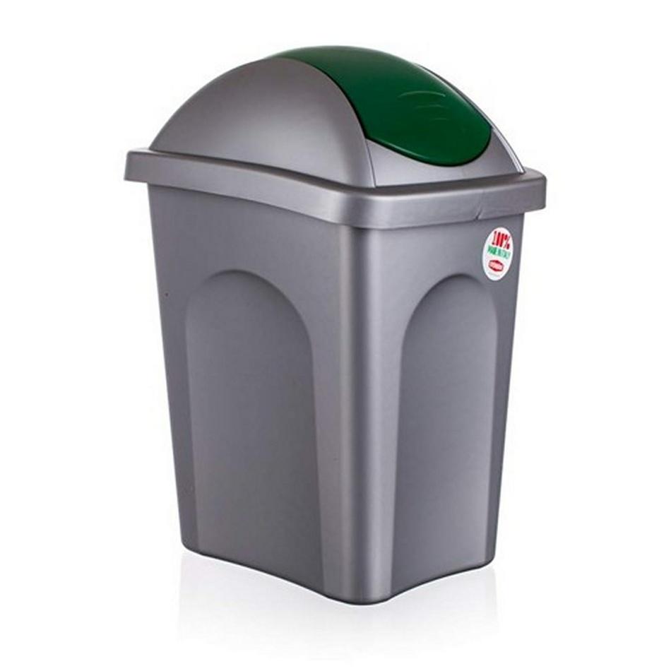 VETRO-PLUS Koš odpadkový Multipat zelená, 30 l
