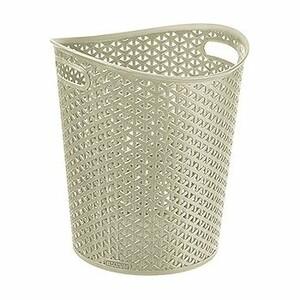 Curver Odpadkový kôš na papier MY STYLE, 8 l, biela
