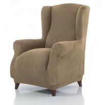 Pokrowiec multielastyczny na fotel uszak Cagliari ecru, 70 – 100 cm