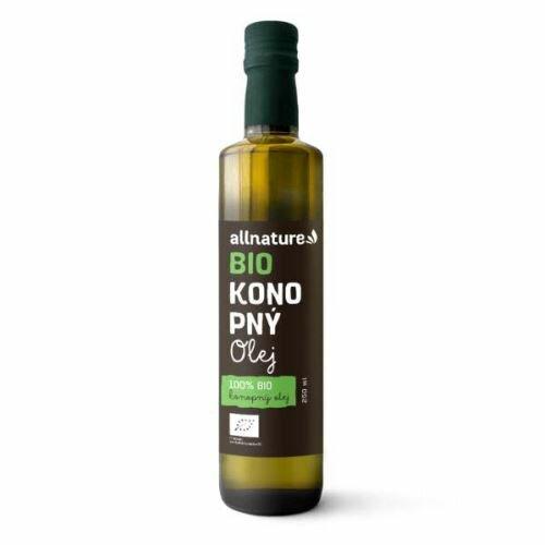 Allnature Konopný olej BIO 250 ml