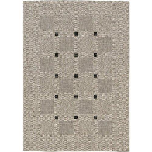 Kusový koberec Floorlux silver/black 20079, 80 x 150 cm
