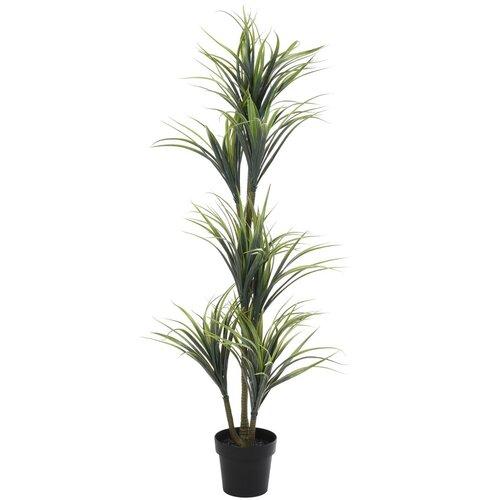 Umělá rostlina v květináči Yucca zelená, 150 cm