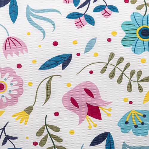 4Home Krepové povlečení Flowers, 160 x 200 cm, 70 x 80 cm