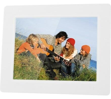 Digitální fotorámeček SDF 751 W, Sencor, bílá, 17, 5 cm