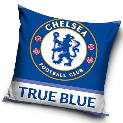 Polštářek Chelsea FC True blue, 40 x 40 cm