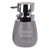 Dávkovač na tekuté mýdlo Urban kitchen, šedá