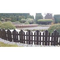 Home Kerti kerítés barna, 2,3 m
