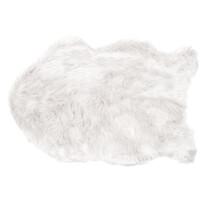 Kožušina Claire biela, 60 x 90 cm
