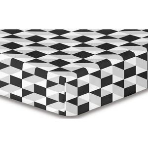 DecoKing Prostěradlo Mystery S1 mikrovlákno, 180 x 200 cm, 180 x 200 cm