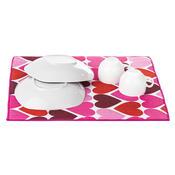 Podložka na nádobí Hearts, 40 x 48 cm