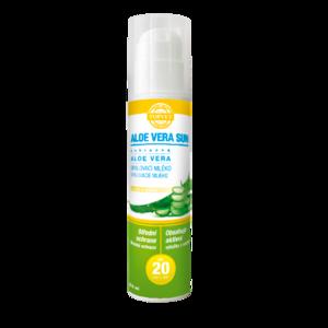Topvet Aloe Vera Opalovací mléko SPF 20, 200 ml