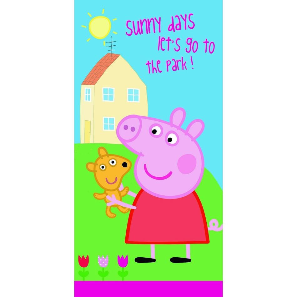 Fotografie Jerry Fabrics osuška Peppa Pig 009 70x140 cm