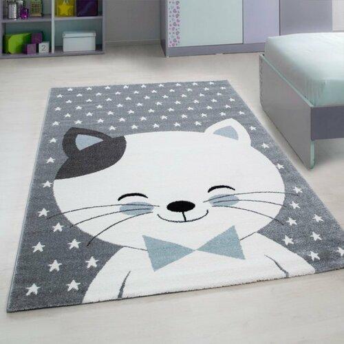 Kusový dětský koberec Kids 550 blue, 80 x 150 cm