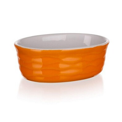 Banquet Culinaria Orange zapékací forma oválná 12x8,5cm