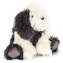 Plyšový pes Jonatán sivá, 27 cm