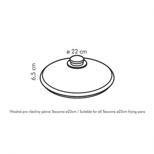 Capac de sticlă Tescoma UNICOVER, 22 cm