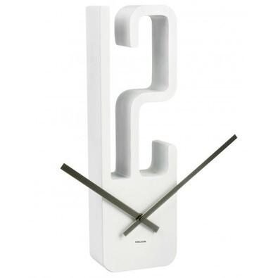 Karlsson 5318WH nástěnné hodiny