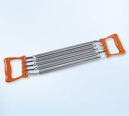 pružinový expander sportwell, stříbrná, 56 x 11 cm