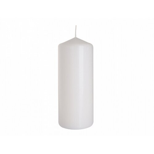 Dekorativní svíčka Classic Maxi bílá, 25 cm, 25 cm