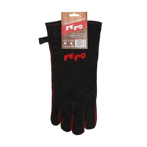 PE-PO Krbová a BBQ rukavice, pravá
