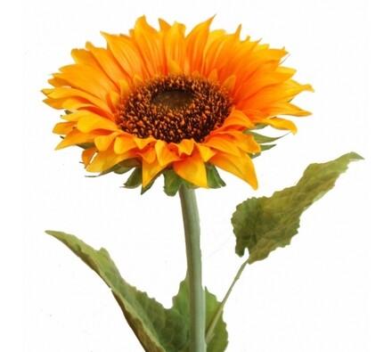 Umělá květina slunečnice 80 cm