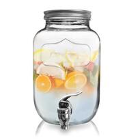 Orion Fľaša sklo+kohútik, 4 l