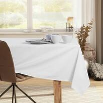 DecoKing Ubrus Pure bílá, 110 x 110 cm