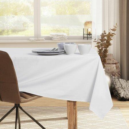DecoKing Față de masă, albă, 110 x 110 cm