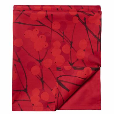 Běhoun na stůl Lumimarja 50 x 160 cm, červený