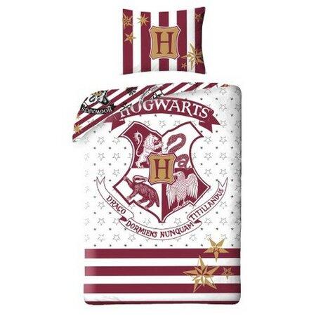 Lenjerie de pat din bumbac pentru copii Harry Potter Hogwarts, 140 x 200 cm, 70 x 90 cm