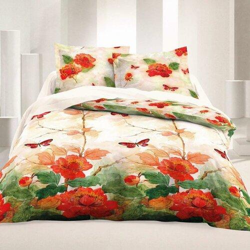 Saténové obliečky Luxury Collection Butterfly, 140 x 220 cm, 70 x 90 cm