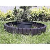 Benco Záhradná palisáda tmavohnedá, 3,2 m