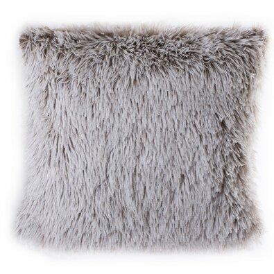 Povlak na polštářek Peluto bílo - hnědá, 40 x 40 cm